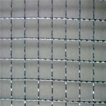 Treillis métallique serti à trous carrés