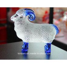 Прекрасный Кристалл стекла Animal Craft для домашнего украшения