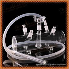 wholesale 4 hoses cheap shisha all glass hookah