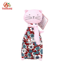 Custom Plush Toy 24cm Height Cute Cat Doll with Clothes
