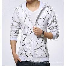 15PKH06 2015 polar polaire cardigan zip-up personnalisé hoodies