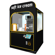 Robot ice cream vending machine