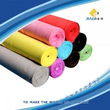 Tissu en tissu microfibre gris Dan Yang