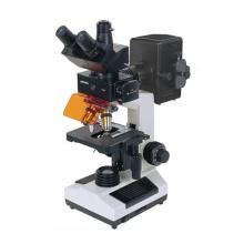 Microscope fluorescent à caméra CCD Wn-FM107