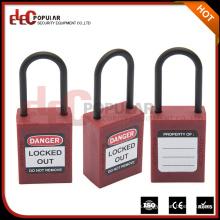 Elecpopular nuevo estilo de bloqueo de seguridad de alta calidad con calor resistente y baja temperatura PA bloqueo de cuerpo