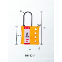 A prueba de corrosión ya prueba de explosión No-conductor de aislamiento de nylon cerradura hasp BOSHI BD-K45
