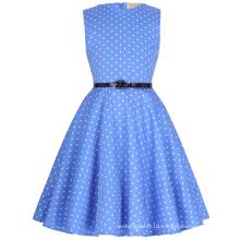 Kate Kasin Children 50s Dress Vintage Retro Cotton Floral Pattern Girls Vintage Dress Kids 'Audrey' Vintage Dress KK000250-13
