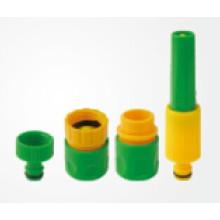 Estándar del sistema de la boquilla de la manguera 4PCS