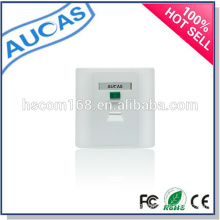 hot sell china factory low price new design rj45 / optical / amp /systimax /uk faceplate