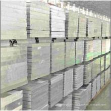 Plaques extrudées en aluminium avec 50 ans de durée de vie