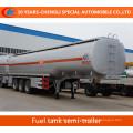 Öltank-halb Anhänger 3 Achsen-Kraftstofftank-halb Anhänger