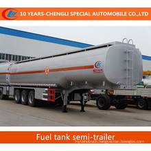 Oil Tank Semi Trailer 3 Axles Fuel Tank Semi Trailer