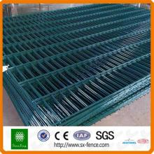 2D Welded PVC Coated Double Wire Fence