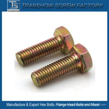 Verzinkter Stahl Sechskantschraube DIN558