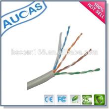 Systimax lan cable cat5e de la red 1000ft a granel / paso cobre de la uña cobreado comunicación / ethernet utp 24 AWG cable trenzado de 4 pares