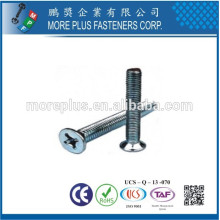 Made in Taiwan Stainless Steel screw shiny torx screws Torx Drive Countersunk stainless steel