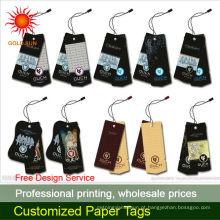 venda por atacado etiquetas de bagagem de papel da linha aérea