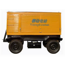2014 wudong série 100kw remorque Groupes électrogènes diesel