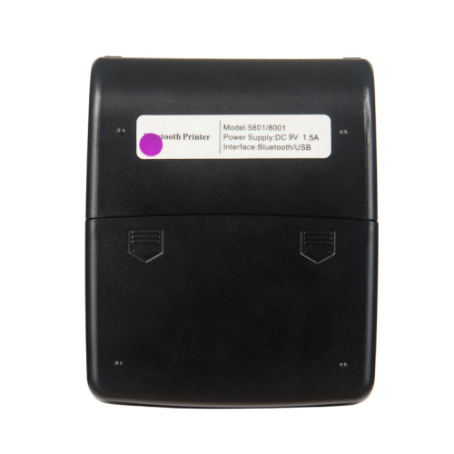 Model Pencetak Thermal Sticker Thermal Wireless Bluetooth Model 5801
