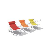 Sedia da spiaggia in alluminio verniciato a polvere di design speciale