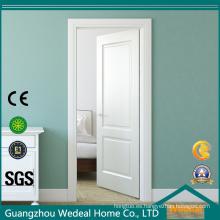 Hoja de puerta interior de madera incombustible compuesto con marco