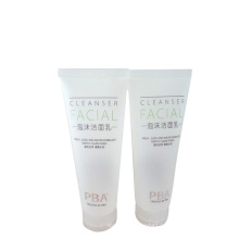 fresh and cool gently clean pores plastic packaging tube