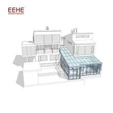 Модульные солнечные панели для продажи УФ-защита Алюминиевая рама Портативная солнечная комната