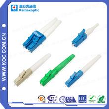 Разъем оптического волокна LC для сборки кабеля
