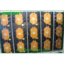 Painel de exposição de diodo emissor de luz de pouco peso P5 interno fundido 640X640mm