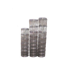 Galvanized Knotted Wire Mesh Cattle Fence Using in Herd (anjia-519)