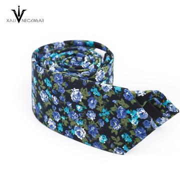 Cravate colorée de coton de l'Inde Paisley Mens Chine