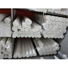 Extrudé 6mm-200mm pièces isolantes électriques blanc / noir stocks adéquats produits sur le temps Turcite-B PTFE / F4 / Teflon Rod / bar / round