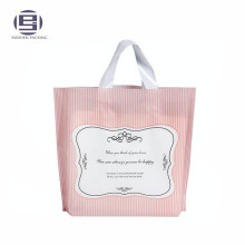 Stand Up Plastic Shopping Loop Handle Bags For Sale, Shopping Carrier Bags