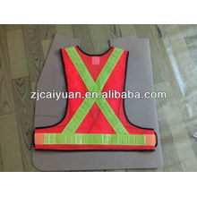 CY Reflective Vest Safety High Visibility Security Safety Fabric