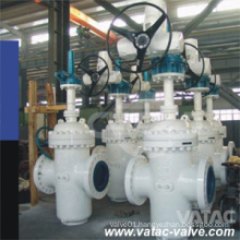 Cast Steel Electric Operated Slab Gate Valve