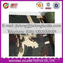 buena calidad de camuflaje impreso stock de tela para la ropa en weifang