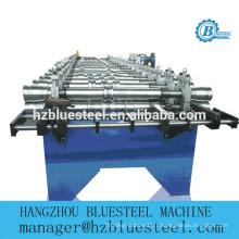Flat Lock Metal Tile Roll Machine formatrice / Flat Self Lock Aluminium Copper Roofing Panel Machine à carreler