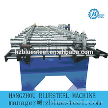 Flat Lock Metal Tile Roll Forming Machine/ Flat Self Lock Aluminum Copper Roofing Panel Tile Making Machine