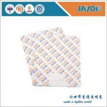 Tissu de fantaisie de fantaisie de polyester de conception de coutume