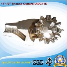 Tricone Cutters IADC115 for Hole Opener/Drill Bits