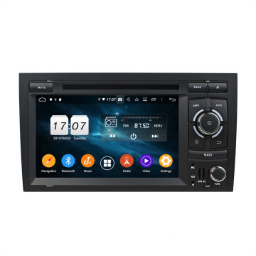 double Din Android 9.0 Stereo Kereta untuk A4