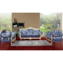 Conjunto de sofá de madeira com mesa de canto para móveis para casa (D929B)