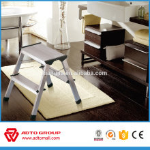 2 step aluminum step stool,aluminum step ladder stool,folding step stool