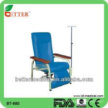 Chaise de perfusion médicale
