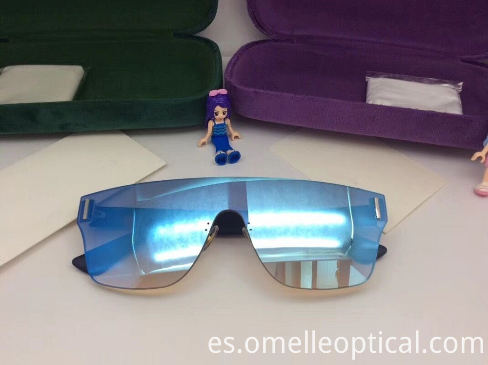 Rimless Coloured Sunglasses