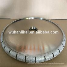 rueda de amoladora de diamante abrasivo bullnose soldada con autógena profesional