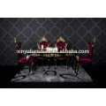 Luxury wooden dining room set XYN2841