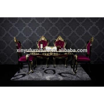 Ensemble de salle à manger en bois de luxe XYN2841