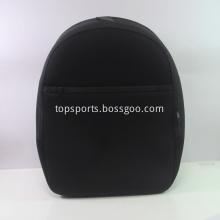 Large Black Neoprene backpack for adult