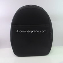 Grande zaino nero in neoprene per adulti